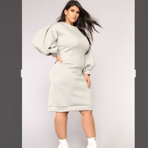 50 Shades of GRAY Sweatshirt Dress- New!!!